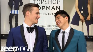 getlinkyoutube.com-Gay Teen and Straight Best Friend Have the Best Prom Ever | Teen Vogue
