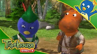 getlinkyoutube.com-The Backyardigans: Robin Hood the Clean - Ep.56