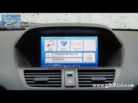 Прошивка навигации в Acura MDX - Установка карт Украины и Европы (IGO Rrimo)