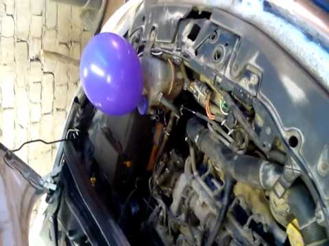 Как проверить прокладку ГБЦ Opel Corsa