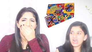 getlinkyoutube.com-تحدي الحلاوة  المعفنة مع أختي !!  | Bean Boozled Challenge