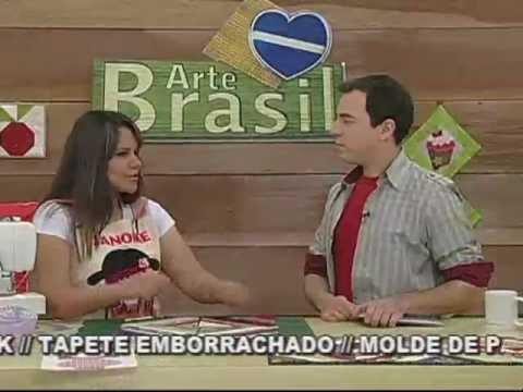 ARTE BRASIL - GEISA LENTINI - BLOCO DE TIRAS EM PATCHWORK (22/09/2011)
