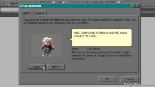 getlinkyoutube.com-Microsoft Office 2000 Office Assistants