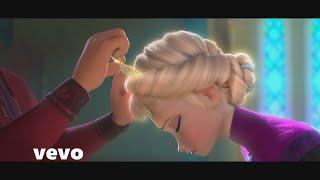 FROZEN Elsa Tribute Disney HUMAN Christina Perri Anna Sisters Love