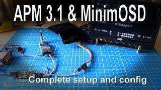 getlinkyoutube.com-APM Mini 3.1 - Adding an OSD for FPV using MinimOSD - complete setup