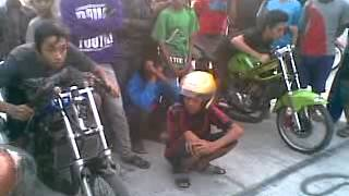 getlinkyoutube.com-balap liar mojokerto ninja ijolumut (chebol #87) vs ninja W.O.W (unyil ps2)