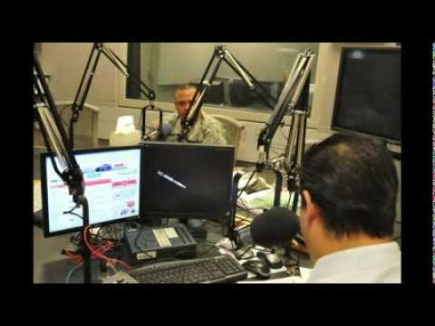 Col. Burgos's live interview at WKAQ 580