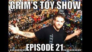 "getlinkyoutube.com-Grim's Toy Show Episode 21: WWE WRESTLING action figures figure mattel transformers ""toy hunter"""
