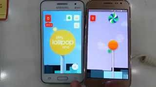 getlinkyoutube.com-Galaxy Core 2 vs Galaxy J2 Lollipop Rom