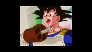 getlinkyoutube.com-Goku se quema el cabello.