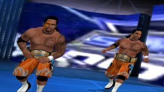 WWE NEW ERA PROJECT THE USOS ENTRACE,SIGNATURE AND FINISHER SVR 11 PS2