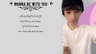 LOADFREE MOBI    LYRIC VIDEO   Wanna Be With You   SEYHA HA Ft  DEVITH LOVE width=
