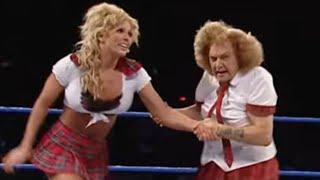 getlinkyoutube.com-Moolah & Mae Young vs. Torrie & Dawn Marie: SmackDown, September 23, 2004