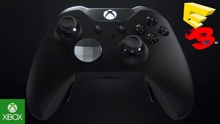 getlinkyoutube.com-I bet SCUF Gaming is pissed! Xbox One Elite Controller with paddles, adjustable triggers (E3 2015)