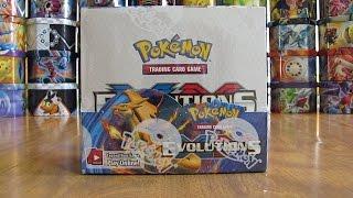 getlinkyoutube.com-Pokemon Evolutions Booster Box Opening Pt. 1