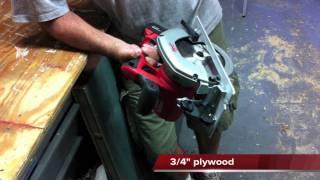 "getlinkyoutube.com-Milwaukee M18™ Cordless LITHIUM-ION 6 ½"" Circular Saw 2630-22 - Review"