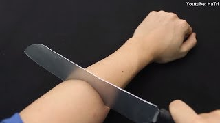 Awesome Cutting Hand Magic Trick and Prank