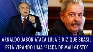 getlinkyoutube.com-Arnaldo Jabor ataca Lula e diz que Brasil está virando uma 'piada de mau gosto'