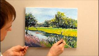 getlinkyoutube.com-Speed Painting by Adam Razik - Landscape - accelerated painting