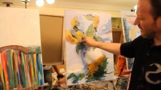 """getlinkyoutube.com-FREE! Full video """"master class in August 2013"""" painter Igor Sakharov"""