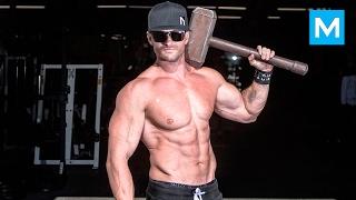 REAL MUSCLES - Scott Mathison - Bodyweight Workout | Muscle Madness