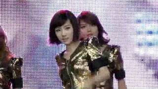 110417 (Taeyeon Incident!) Fancam SNSD Run Devil Run @ Angel Price Music Festival