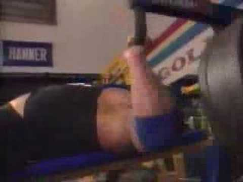 Bodybuilder Jim Quinn WBF Workout.