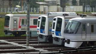 getlinkyoutube.com-東急5050系4000番台4102Fと西武・メトロの車両達 小手指車両基地