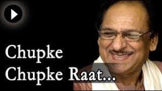 Chupke chupke raat din aansu bahana yaad hai Ghulam ali   YouTube flv