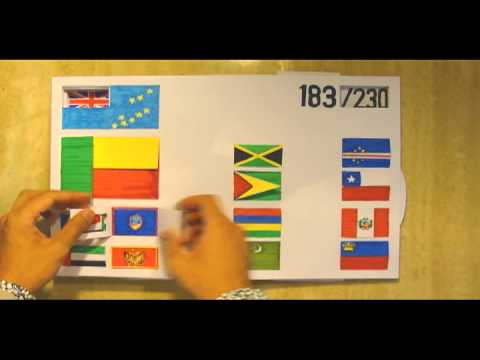 Flags of the World: A Non-Digital Interactive Pop-Up Book