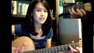 getlinkyoutube.com-Perahu Kertas Guitar Tutorial Maudy Ayunda