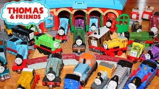 THOMAS AND FRIENDS TANK ENGINES LETS PLAY 56 TRAINS ISLAND OF SODOR
