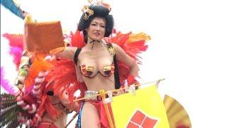 getlinkyoutube.com-浅草サンバ 2016 華やかロボットレストラン ASAKUSA Samba Carnival