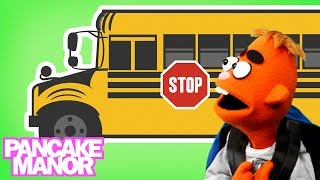 getlinkyoutube.com-WHEELS ON THE BUS ♫ | Nursery Rhyme | Kids Songs | Pancake Manor