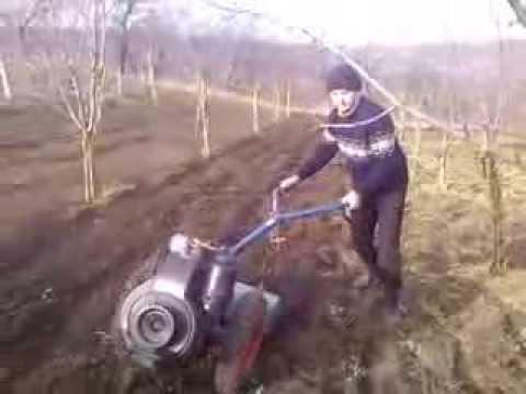 Motocultor Grillo 13.5 cp diesel