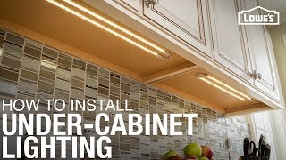 getlinkyoutube.com-How to Install Under Cabinet Lighting