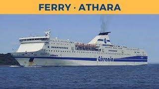 Arrival of ferry ATHARA in Olbia (Tirrenia)