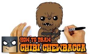 How to Draw Chewbacca | Star Wars