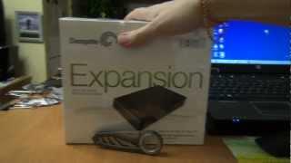 getlinkyoutube.com-ГаджеТы: достаем из коробки Seagate Expansion Desktop Drive