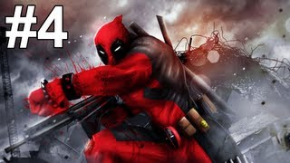 Deadpool Gameplay Walkthrough Part 4 No Commentary