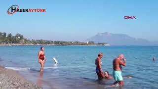 Datça'da pastırma yazında deniz keyfi