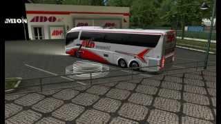 getlinkyoutube.com-Irizar PB Confort Scania / ADO Aeropuerto / GTS Mod Bus México 2013