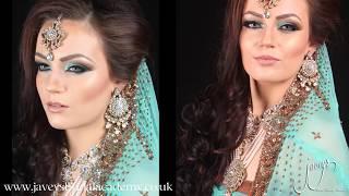 getlinkyoutube.com-Arabic/ Asian Bridal Makeup tutorial Waleema Look