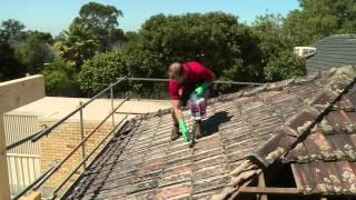 getlinkyoutube.com-How To Clean Roof Tiles - DIY At Bunnings