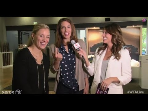Angelique Kerber & Andrea Petkovic | WTA Live All Access Hour | Porsche Tennis Grand Prix