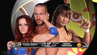 getlinkyoutube.com-ROH - New Japan War of the Worlds TBT - Tanahashi vs Bennett (5/17/14 - NYC)