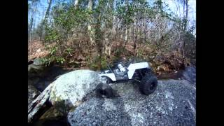 getlinkyoutube.com-Axial Wraith - Pit Bull Rock Beast II 2.2 Tires - Trailing - Part #2