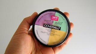 getlinkyoutube.com-How to use Wet n Wild Correcting Palette
