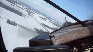 getlinkyoutube.com-Kitfox Forced approach -landed on snow covered field