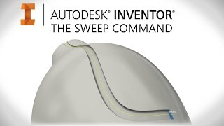 getlinkyoutube.com-How to Sweep | Autodesk Inventor